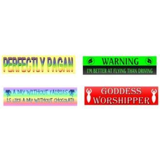 Witchy Bumper Stickers