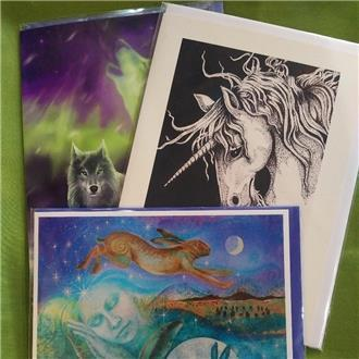 Sacred Animals Cards