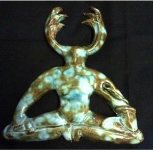 Horned God Wall Plaque