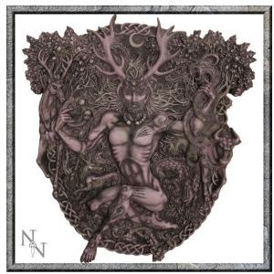 Cernunnos Wall Plaque - SOLD OUT