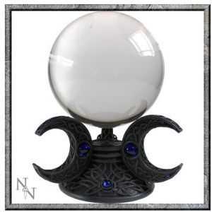 Triple Moon Crystal Ball