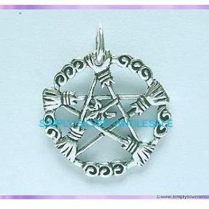 Brooms of the Elders Pentagram Pendant