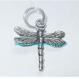 Dragonfly Charm / Pendant (Double-sided)