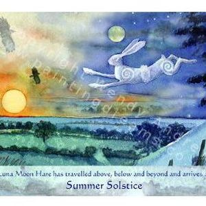 Luna Moon Hare at Summer Solstice