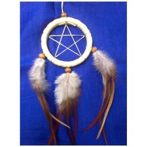 Pentagram Dreamcatcher 2 1/2