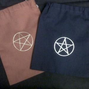 Pentagram Tarot Bag (Polycotton)