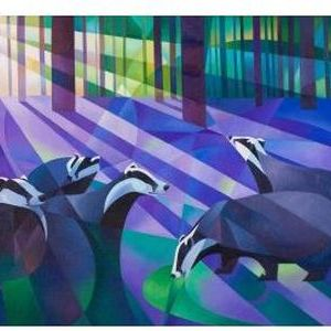 Badgers, Bluebells and Moonlight