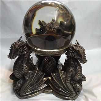 Dragon's Prophecy Crystal Ball and Stand
