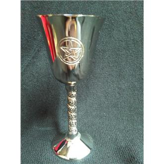 Altar Chalice (small) with Engraved Pentagram