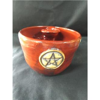 Ceramic Altar Bowl with Inset