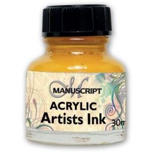 Ink - Brilliant Yellow Acrylic