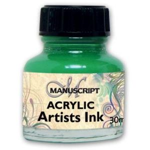Ink - Emerald Green Acrylic