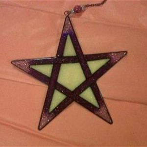 Pentagram Sun & Light Catcher