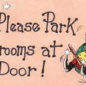 Please Park All Brooms at the Door