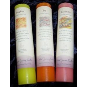 Reiki Charged Herbal Pillar Candles