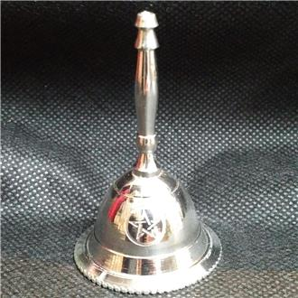 Altar Bell (small) with engraved Pentagram