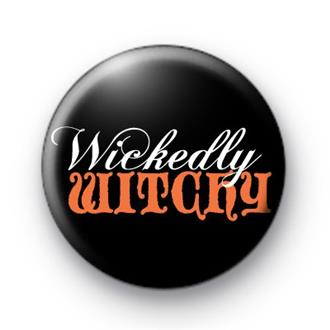 Wickedly Witchy Badge