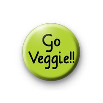 Go Veggie Badge - SOLD OUT