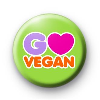 Go Vegan Badge  - SOLD OUT
