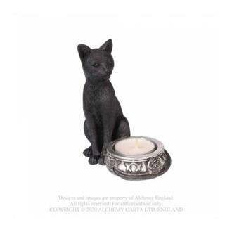 Black Cat T-Light Holder