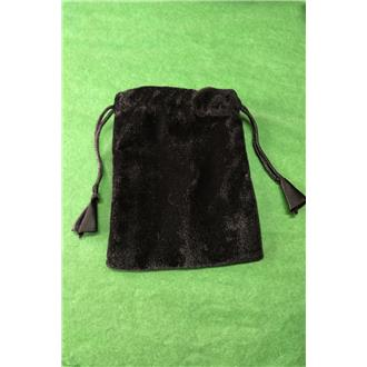 Black Velvet Pouch Medium