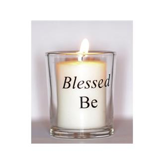 Blessed Be Votive Candle Holder