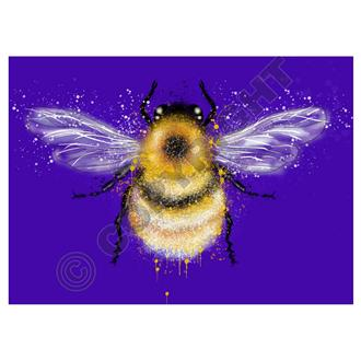 Bumble Bee Purple