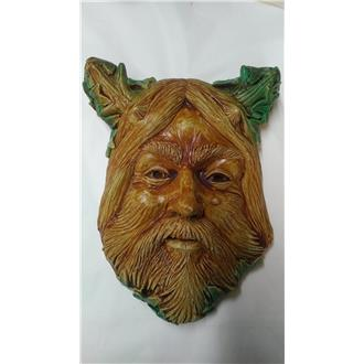 Cernunnos Head Wall Plaque