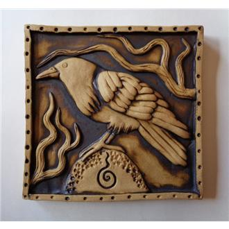 Crow Plaque - SOLD OUT