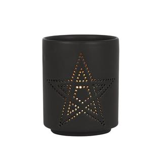 Cut Out Pentagram Tealight Holder