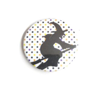 Dotty Witch Badge