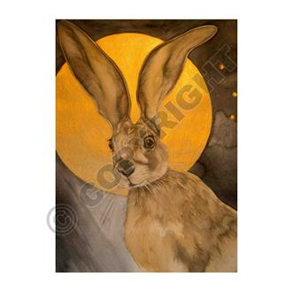 Golden Moon Hare