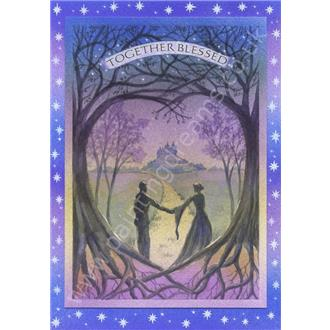 Together Blessed Handfasting Card