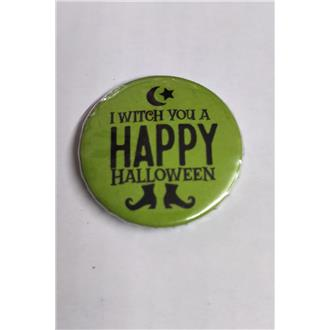 I Witch You a Happy Halloween Badge