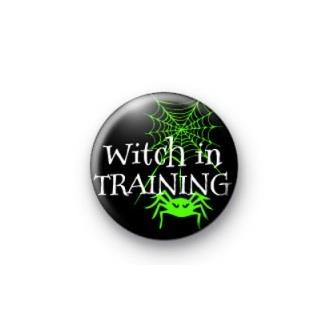 Witch in Training Badge