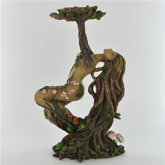 Tree Ent Lady Birch Candle Holder