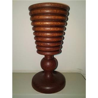 Mahogany Wooden Chalice - SOLD OUT