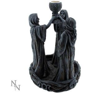 Maiden, Mother & Crone Backflow Incense Burner