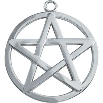 Encircled Pentagram Keyring/bag Charm