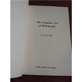 The Complete Art of Witchcraft - Sybil Leek - SOLD