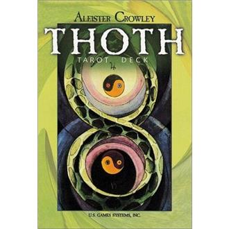 Aleister Crowley Thoth Tarot Deck Large/Standard