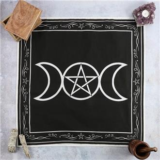 Altar Cloth with Triple Moon and Border