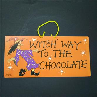 Witch Way To The Chocolate