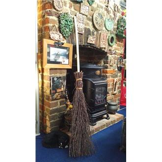 Hand-Made Witches' Besom
