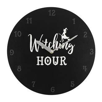 Witching Hour Clock - Black