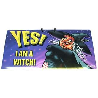 Yes I am a Witch Sign
