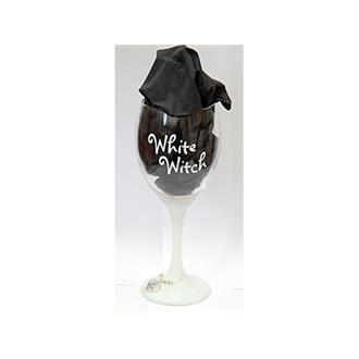 White Witch Glass Chalice