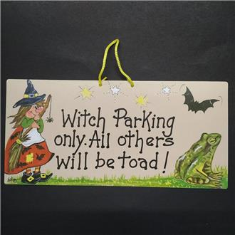 Witch Parking Only ...!